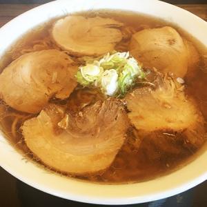 自家製麺の多古爺でチャーシューメンを食す!