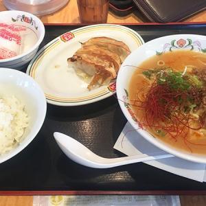 餃子の王将で限定メニュー「温玉担々麺」を食べてきた。