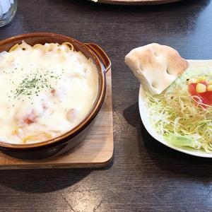 射水市【カフェまる】隠れ家カフェのランチ!スパゲティグラタンを食す♪