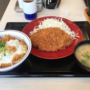 【かつや】カツ丼とロースカツを同時に味わう!期間限定メニュー「王道ロースカツ定食」を食す。