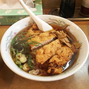 高岡市【餃子菜館 将来軒】パイコー麺!?のようなロースラーメン&ビッグサイズのギョーザを食す♪