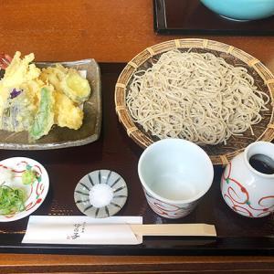 高岡市【手打ち蕎麦 竹の子】綺麗なお店で「海老と野菜の天せいろそば」を食す。