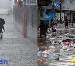 【ピノイの衝撃】日本の洪水が美しい川のように綺麗過ぎると話題に!!