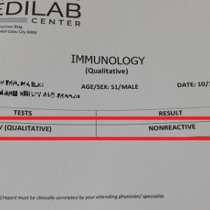 【超不安】セブで受けたHIV検査結果を発表します