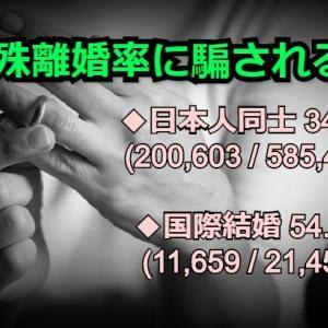 【朗報】国際結婚カップルの「離婚7割」って真っ赤なウソ!!