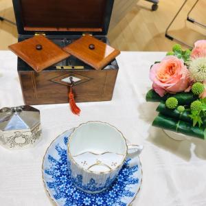 7月の紅茶教室はアンティーク&紅茶の歴史について☆