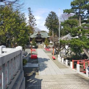 2021/3/9(火)相模国総社六所神社 神奈川県