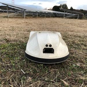 ロボット草刈機(KRONOS)の設置~太陽光発電所編
