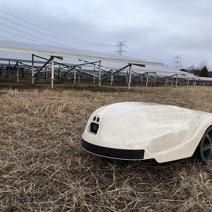 ロボット草刈機(KRONOS)の設置 その2
