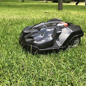 ロボット芝刈機(オートモア)のフィルター交換