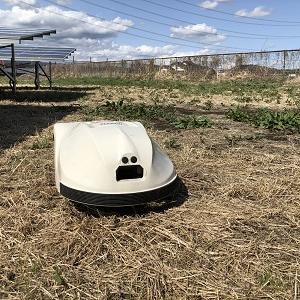 ロボット草刈機クロノスの断線修理!!!