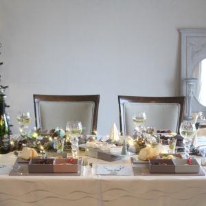 漆器でクリスマス