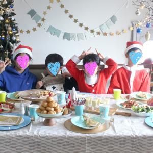 クリスマスのキッズパーティー