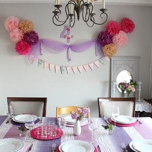 娘のお誕生日会 過去のパーティーコーディネート Part2
