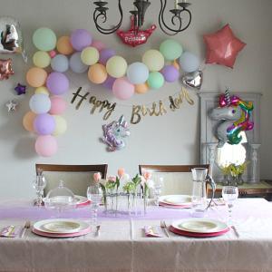 娘7歳のお誕生日会