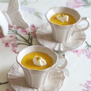 【レシピ】かぼちゃのポタージュ オレンジ風味
