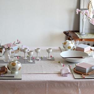 【ご報告】towanの器で楽しむ春のおもてなし和食 ~テーブルコーディネート編~