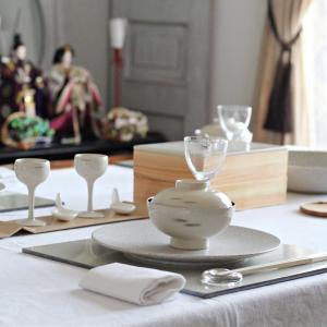 我が家のひなまつり ~テーブルコーディネート~