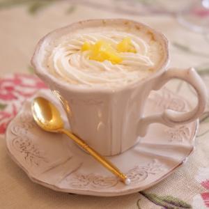 秋のおうちカフェに マロンミルクティー♪