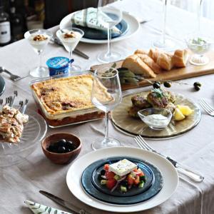 ギリシャ料理レッスン始まりました!