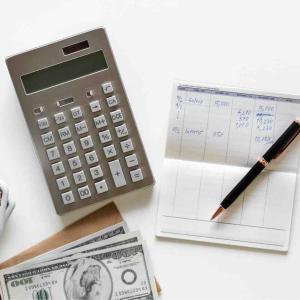 2019年3月 家計簿〆と貯金額。保険返戻金が入りました。