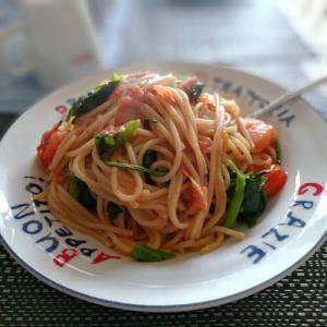 残り物スパゲッチィ