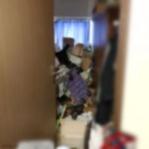 (※閲覧注意)我が家の物置き部屋です。