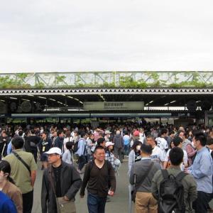 西武鉄道狭山線・山口線・西武球場前駅~メットライフドームの目の前ですよ。駅名は頑なに「西武球場前」!