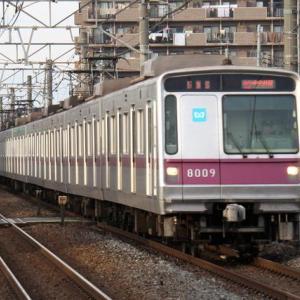 東京メトロ8000系~半蔵門パープル、片道90キロ以上のロングランナーです!