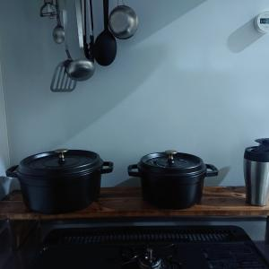 【簡単DIY】材料費ゼロ円×コンロ側に鍋置き作ってみた