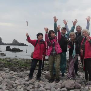 真鶴半島ノルディックウォーキングと幕山公園梅まつり