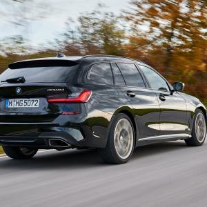 BMW新型3シリーズセダン・ツーリング(G20,G21)に3L直6ディーゼルターボ「M340d xDrive」設定!