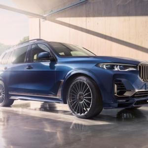 アルピナ最強SUV「BMWアルピナXB7」がワールドプレミア!日本での価格は2498万円で予約開始!