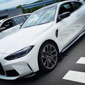 【後編・M4コンペ試乗】BMW新型「M3・M4 Competiton」(G80,G82)を高速道路で乗り比べ比較試乗してきました(^^)試乗レポート!