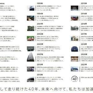 BMWジャパンが本日会社設立40周年で40年の軌跡を振り返るデジタルブックレットPDF(40ページ)を公開!おめでとうございます\(^o^)/