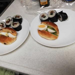 串カツ と ジャージャー麺