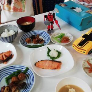 魚久の粕漬け と 八宝菜