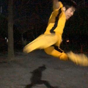 謹賀新年!リー中川 2020年新春 元祖!一人プロレス 春巻龍バージョンでアイロンと戦う!