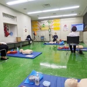救急救命講座に行ってきました!