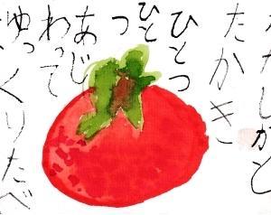 柿の競作・hinaちゃんのお誕生日