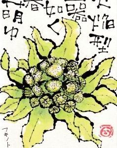 フキノトウ・春萌ゆ