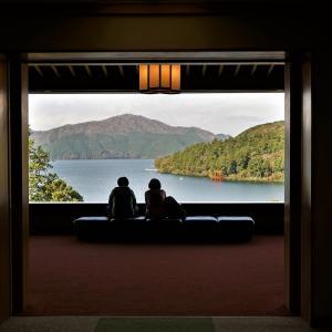箱根湯本の堀文子さん。成川美術館