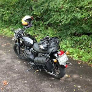 MYバイク ボンネビルT100
