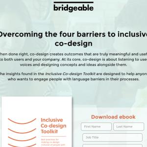 多様性社会でのデザイン:Inclusive Co-design Toolkit をリリースしました
