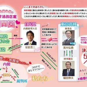 検察が司法?三権分流?大丈夫か日本人! = #検察庁法改正案に抗議します