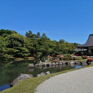 京の一枚    天龍寺 百花苑