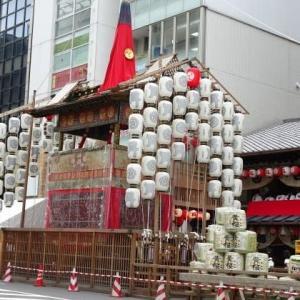 祇園祭 今日の鉾