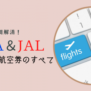 ANAとJAL特典航空券のすべて〜国内線版〜いつから予約できる?予約変更やキャンセル規定は?