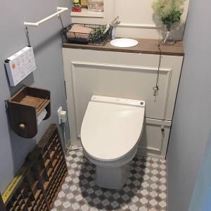 賃貸DIY・トイレのタンクを隠して、おしゃれな空間にリノベーションする方法(動画)