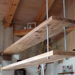寸切りボルトを使って、男前な吊り棚を作る方法(動画)